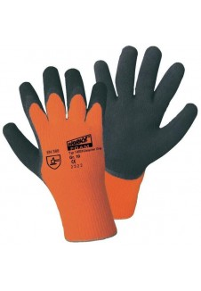 Gants de protection pour chantier Orange