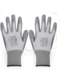 Gant de protection de chantier gris