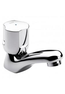 robinet de lavabo simple chromé