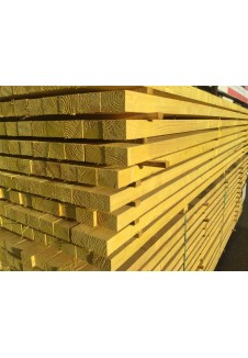Chevron en bois blanc 6/4 brut  long .4m