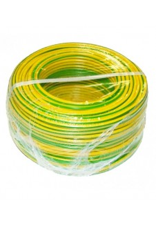 Files TH 2,5 mm² jaune-vert PLASTICABLE