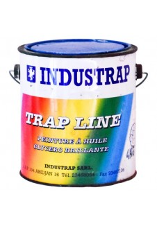 peinture glycero brillante à huile TRAP LINE 4kg