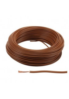 File TH 1,5 mm² marron PLASTICABLE
